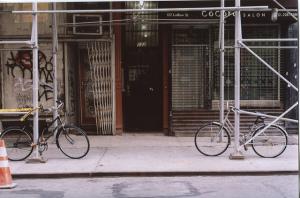 bikes in LES