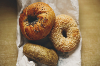 Shakespeare and Sons bagels