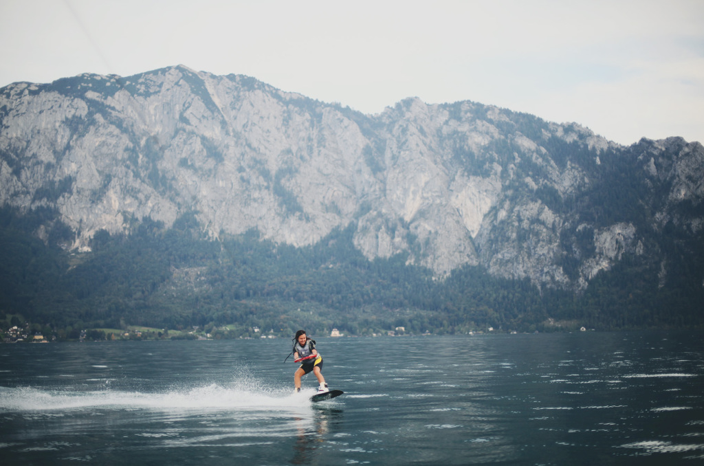 wakeboarding Attersee