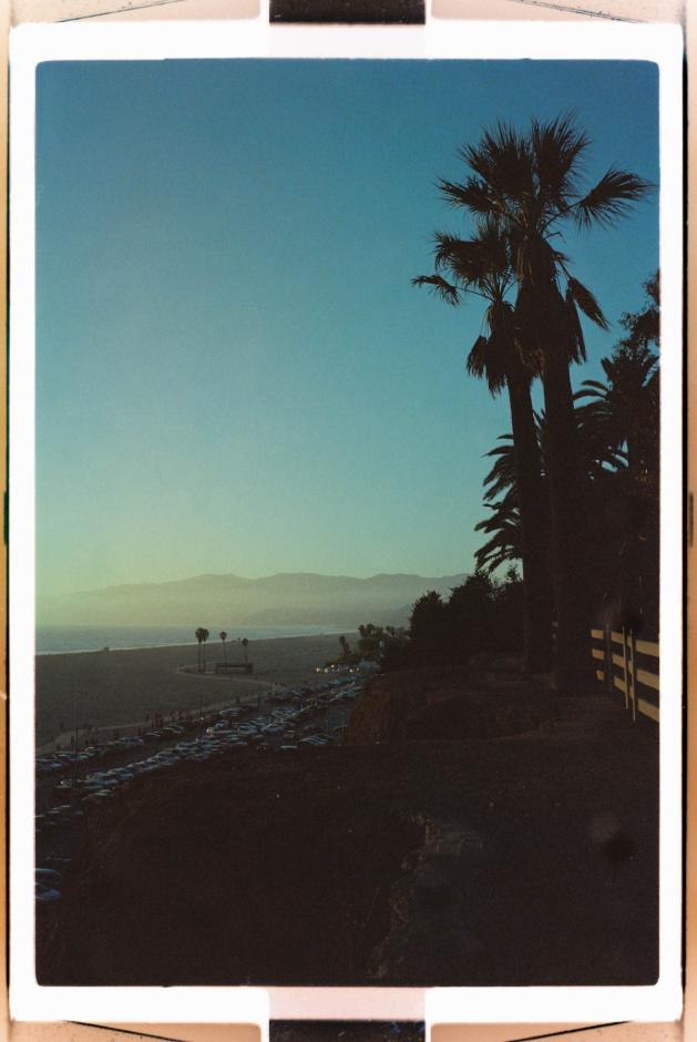 Zachód słońca Santa Monica