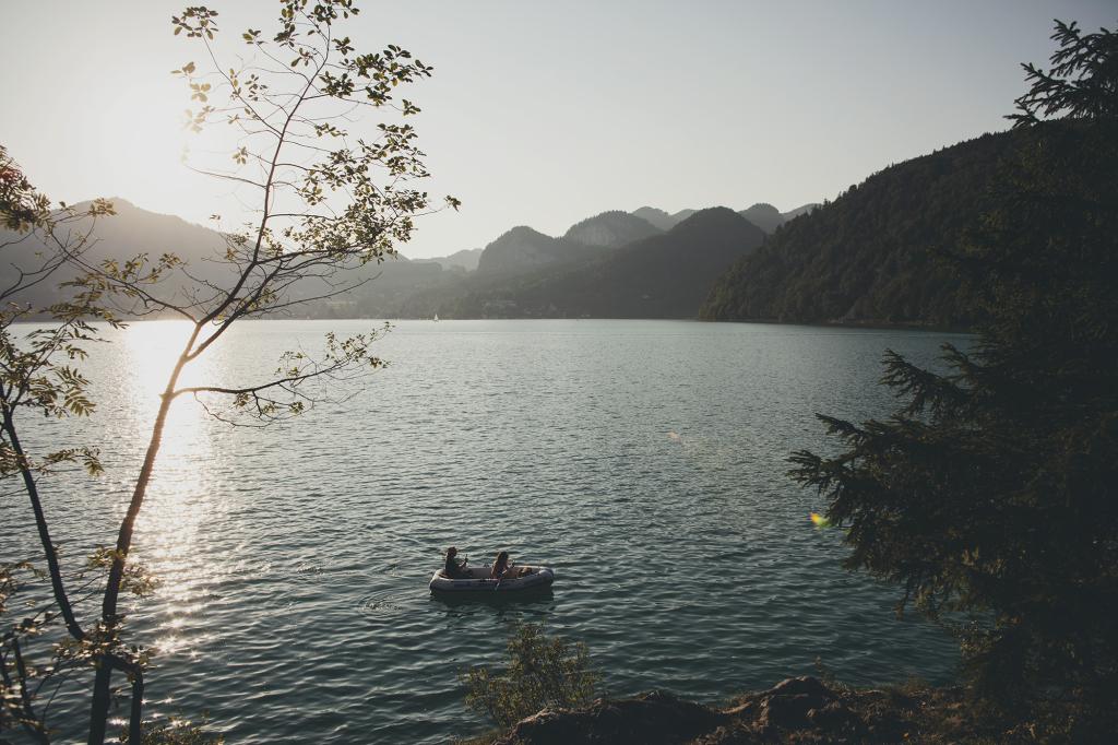jezioro wolfgang w austrii