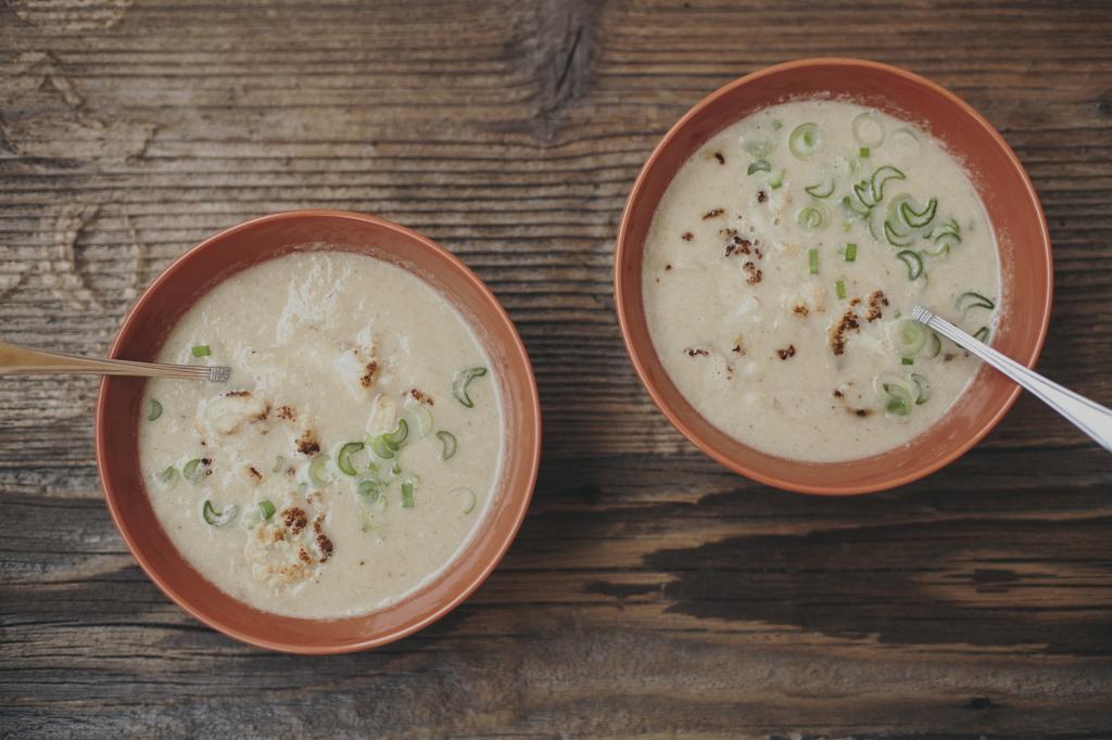 zupa krem z kalafiora z curry