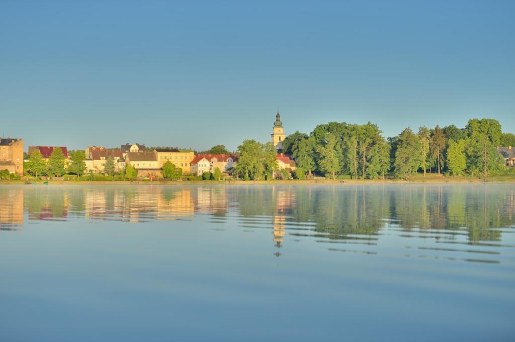 2.16. Pszczew, panorama od strony jeziora