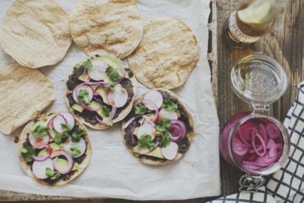 tostadas wegańskie przepis