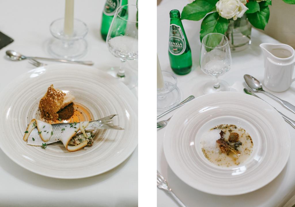 biała róża kraków menu degustacyjne