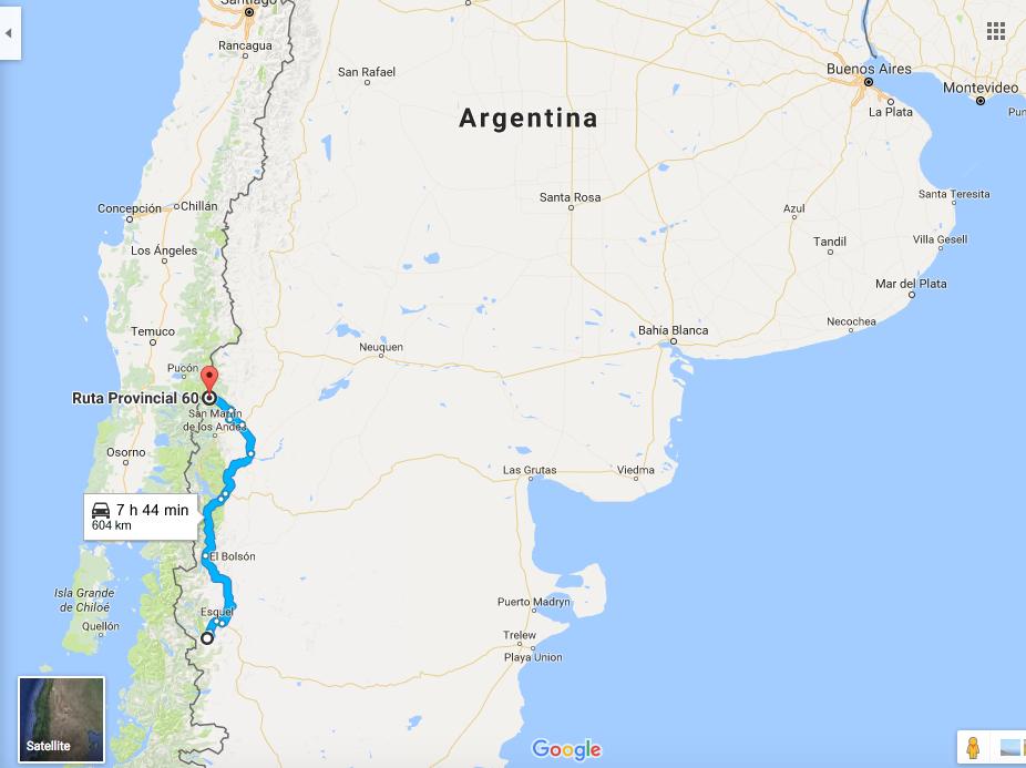 patagonia argentyna