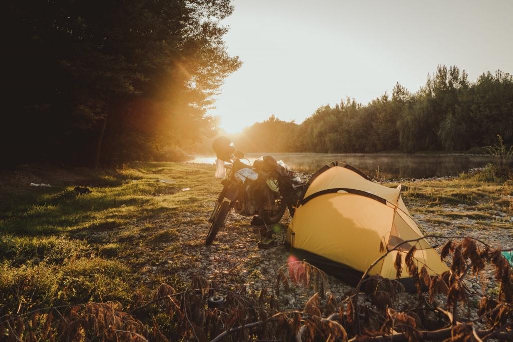 północna patagonia camping