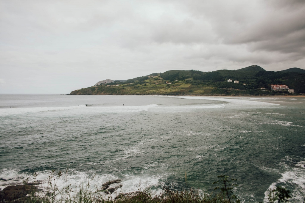 mundaka kraj basków