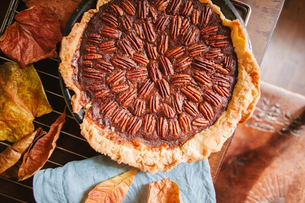 Ciasto pekanowe – czekoladowe pecan pie