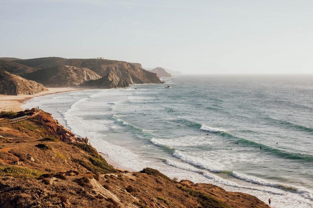portugalia surfing polecane plaze Algarve