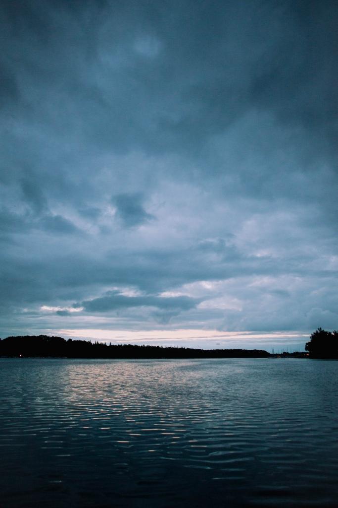 jeziorak zachod slonca
