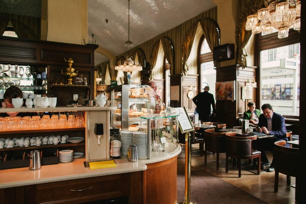 Kawiarnie w Wiedniu – Cafe Schwarzenberger