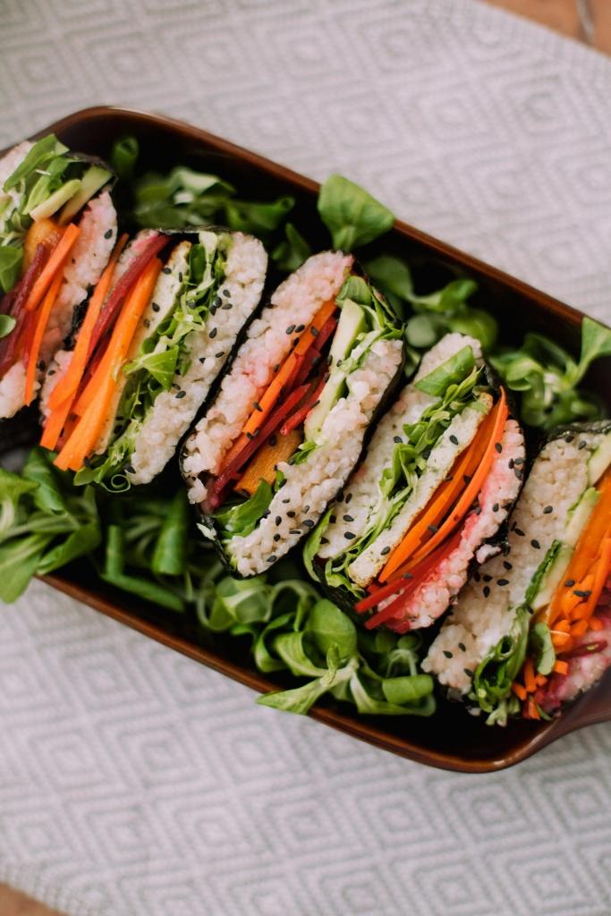 japońska kanapka onigirazu – przepis