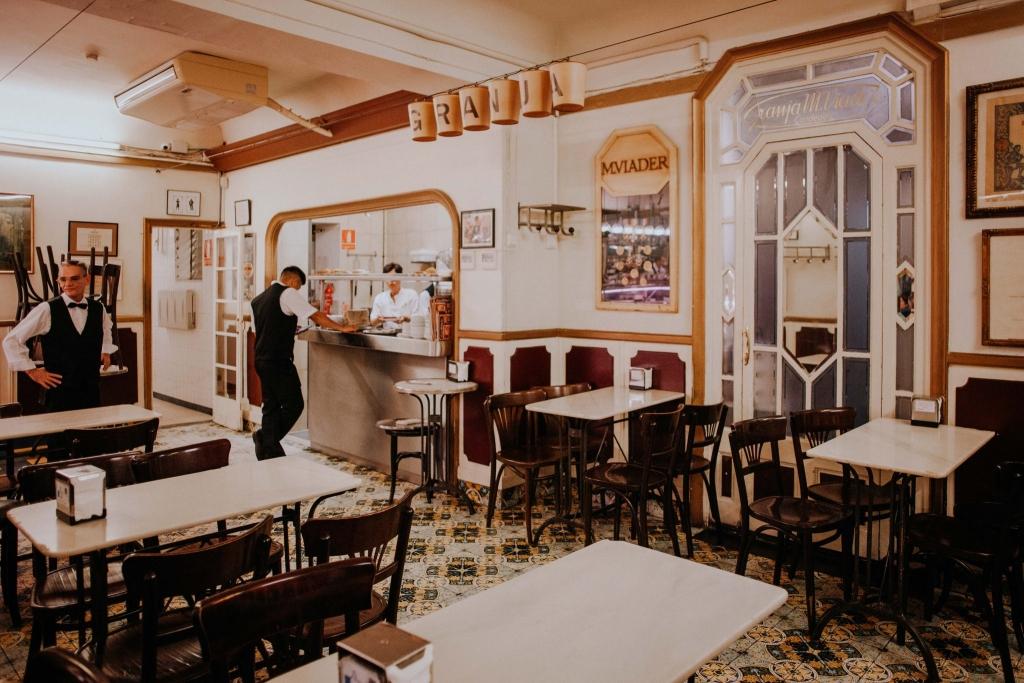 Barcelona gdzie zjeść – Granja M Viader