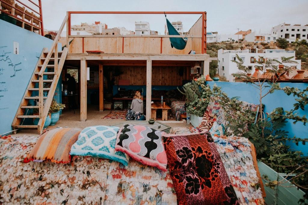 The Lunar Surfhouse Maroko