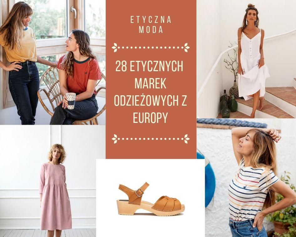 28 Etycznych marek odzieżowych z Europy – i jak odnaleźć się